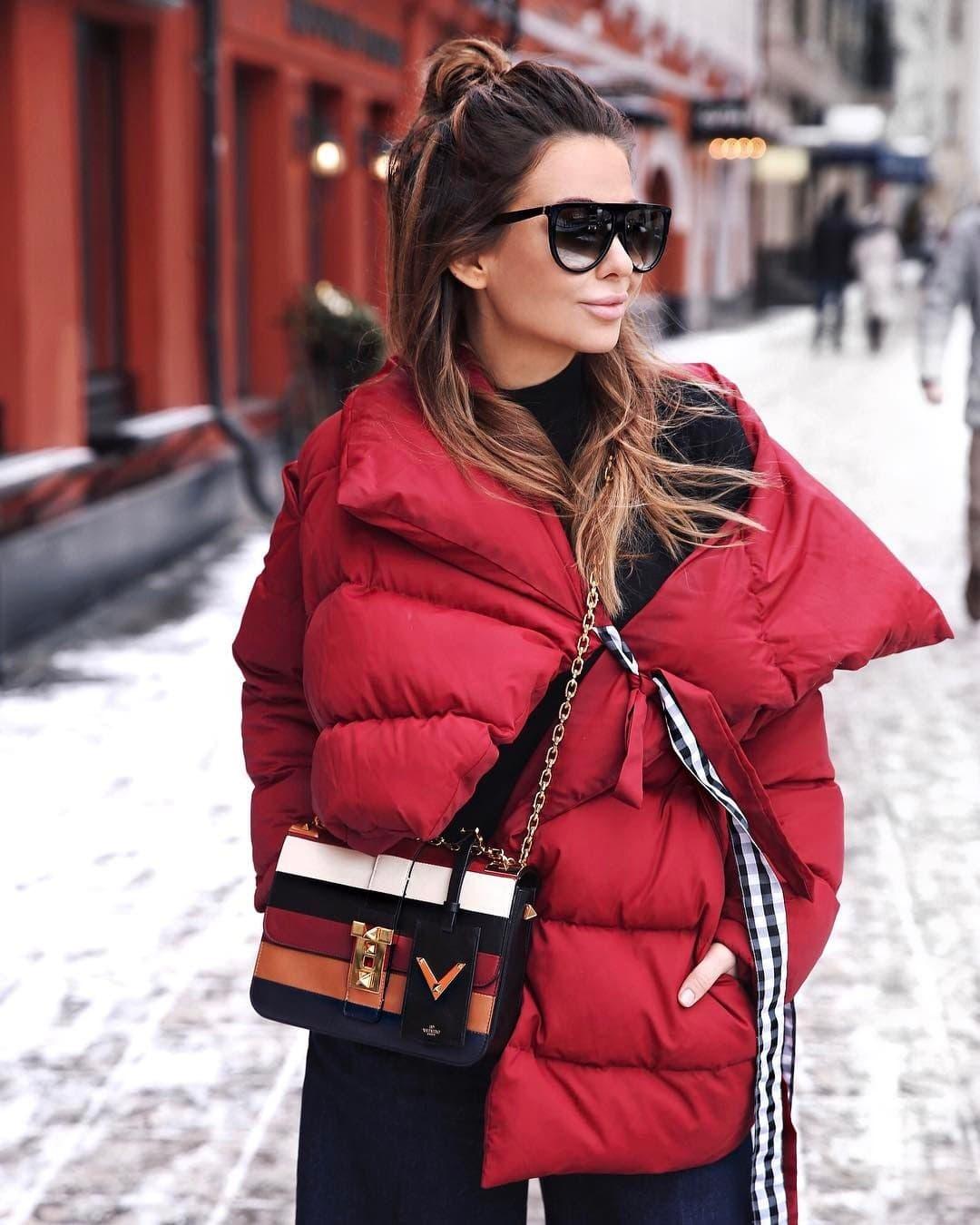 Женские дутые куртки для осени-зимы фото_7