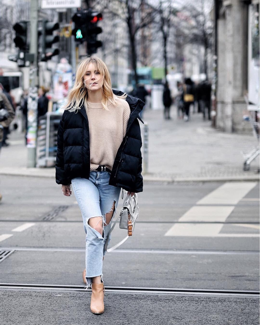 Женские дутые куртки для осени-зимы фото_6