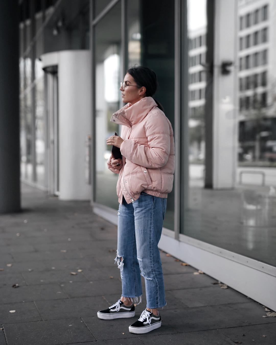 Женские дутые куртки для осени-зимы фото_11