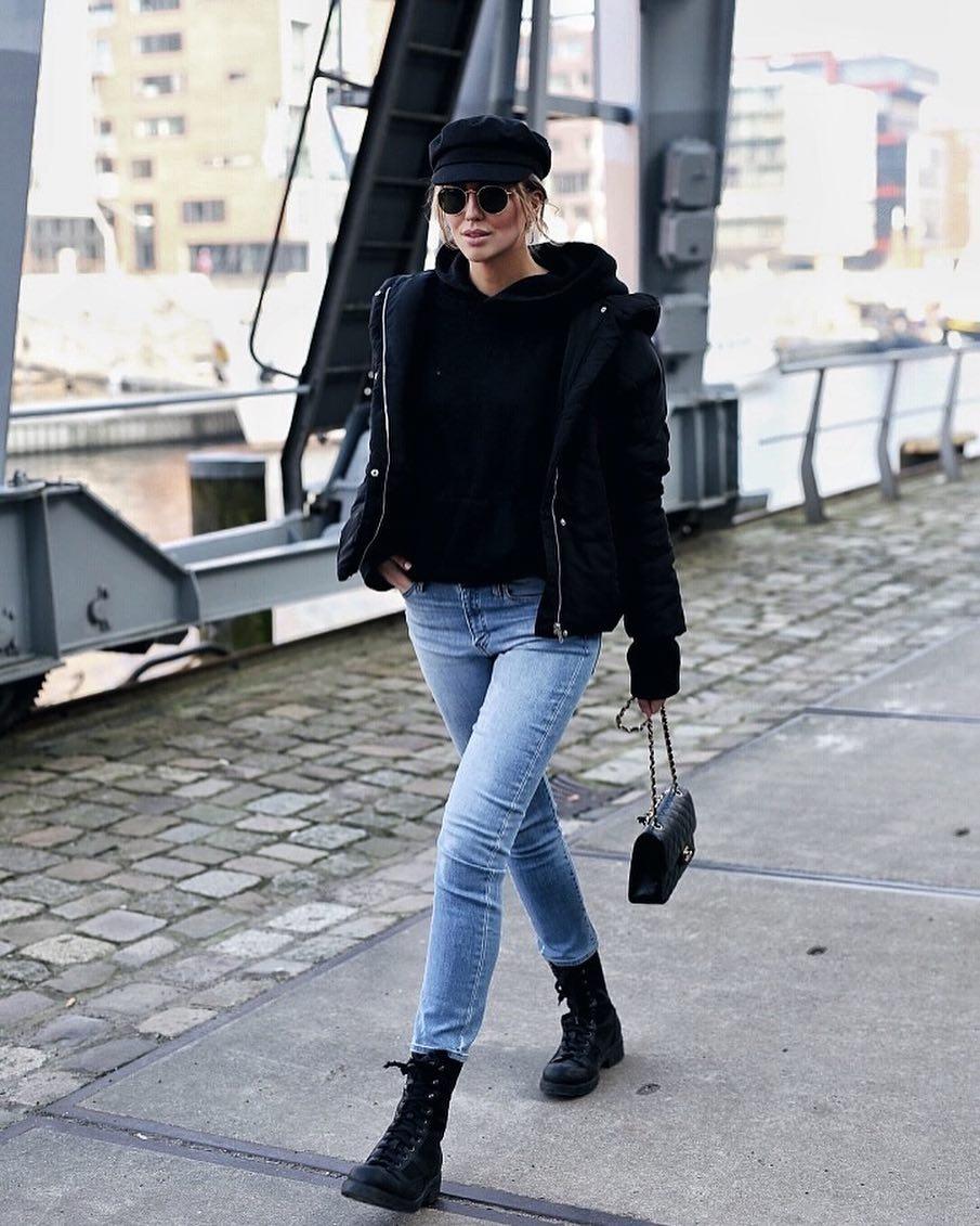 Женские дутые куртки для осени-зимы фото_10