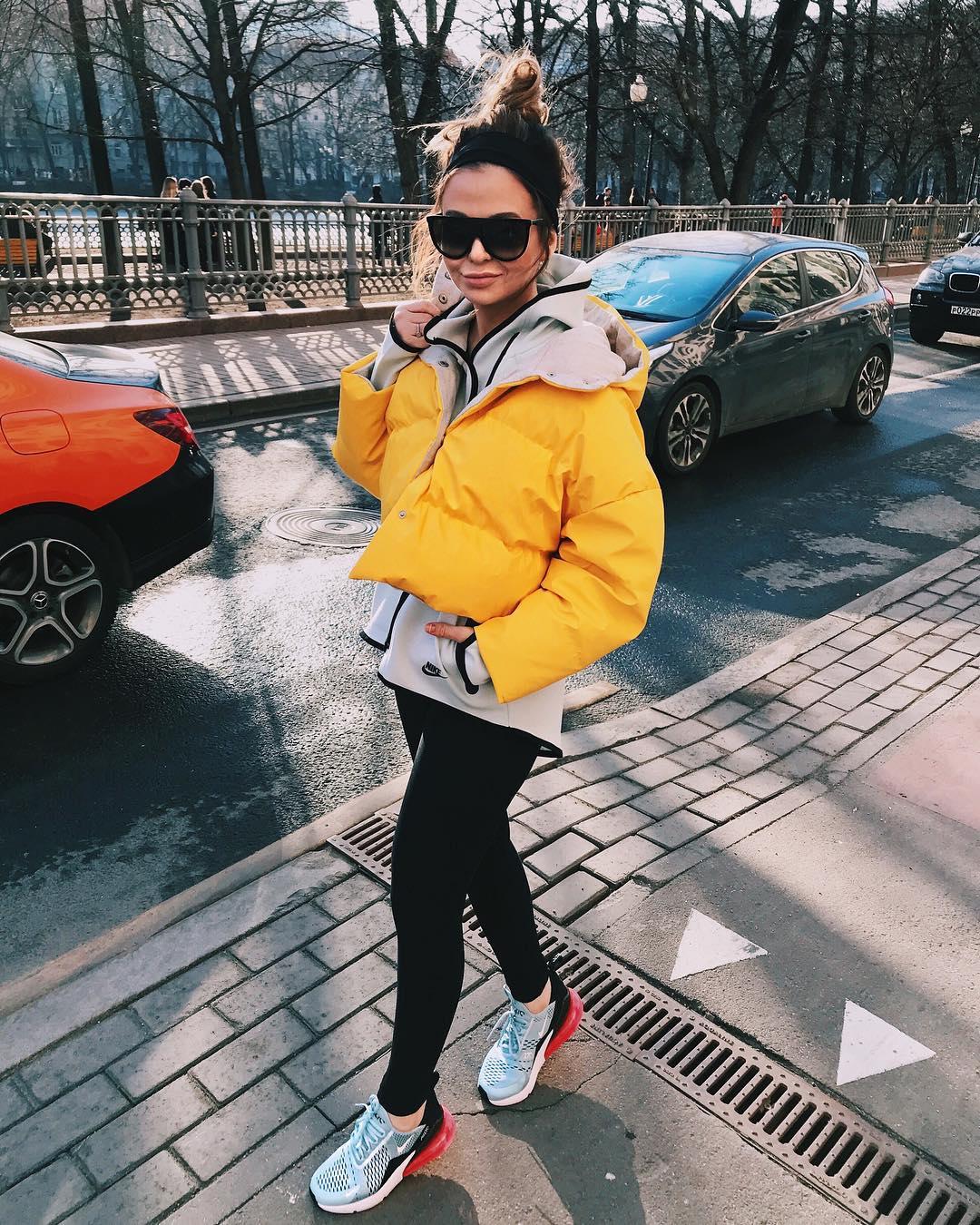 Женские дутые куртки для осени-зимы фото_14