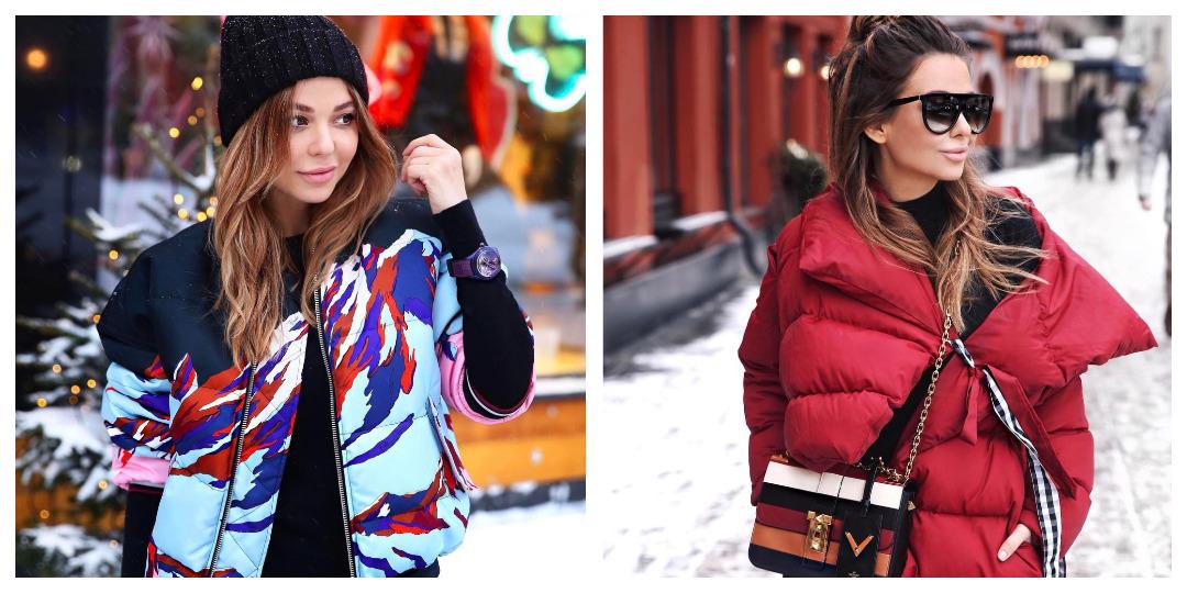Женские дутые куртки для осени-зимы фото