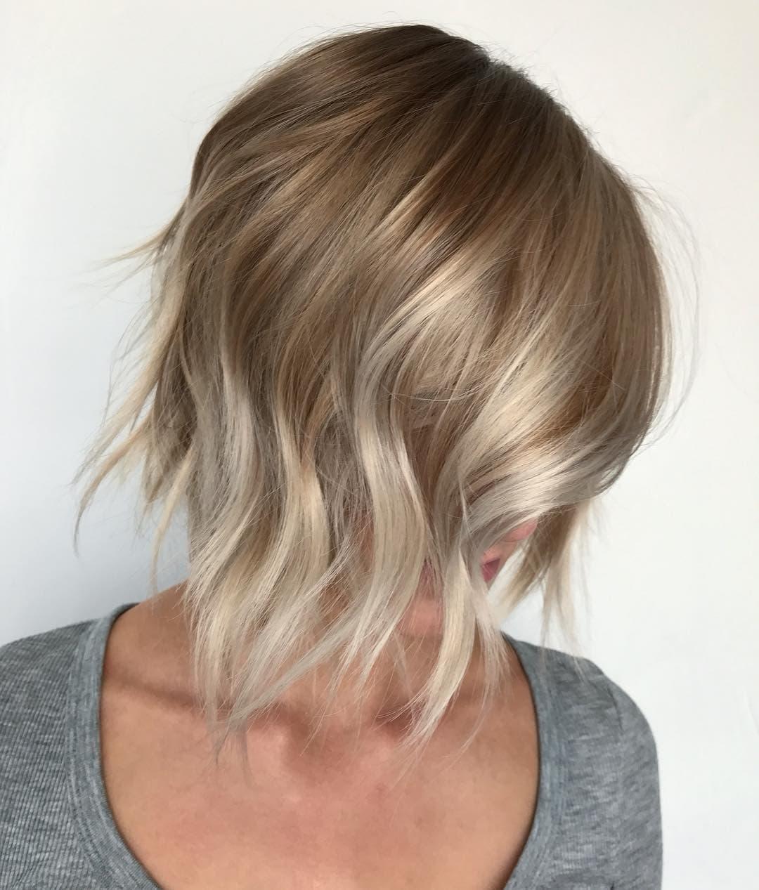 пшенично-серебряные волосы