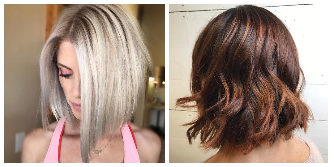 стрижки для толстых волос