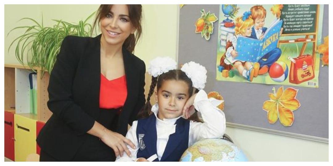 Ани Лорак с дочерью