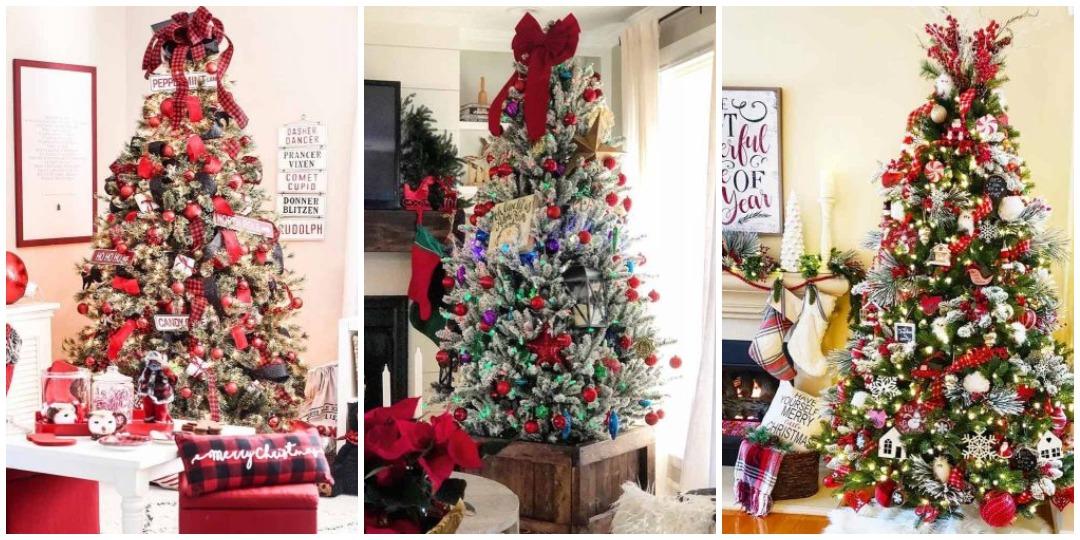 идеи украшения новогодней елки_3