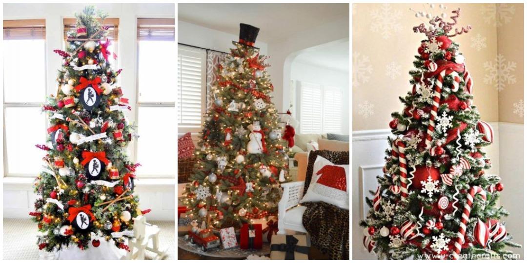 идеи украшения новогодней елки_7