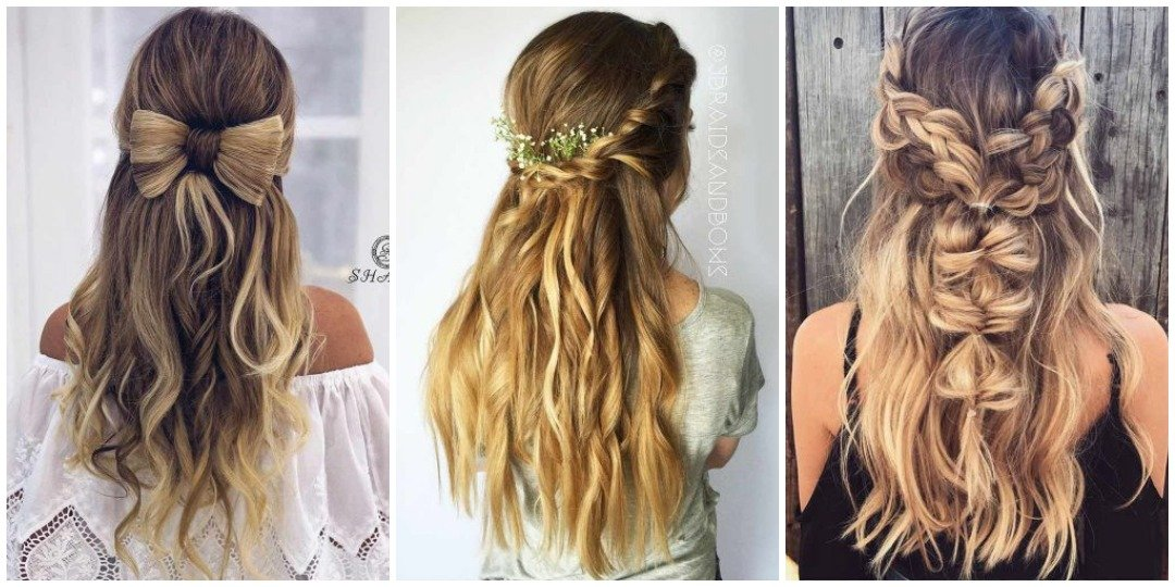 рождественских причесок для длинных волос _1