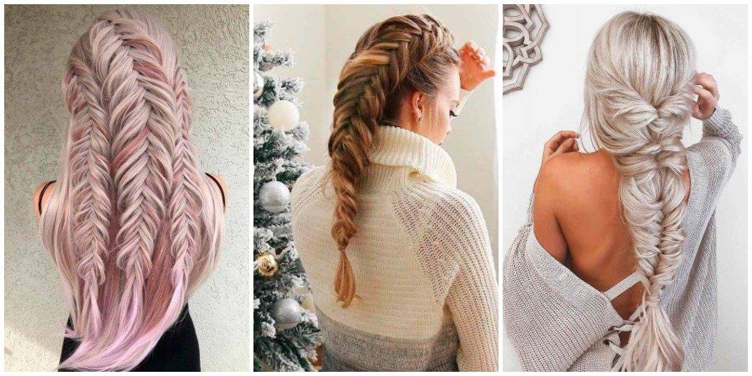 рождественских причесок для длинных волос _11