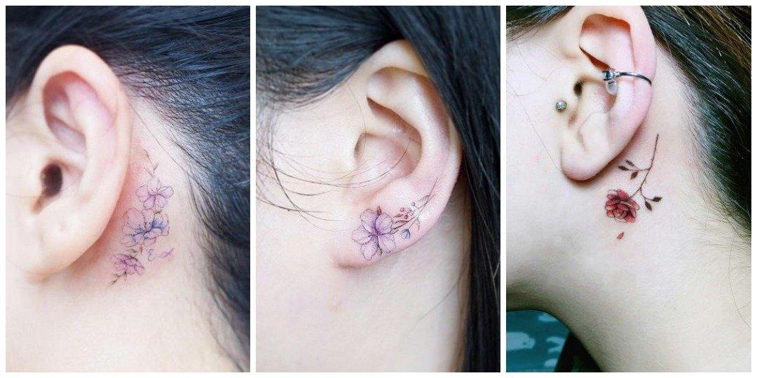Маленькие идеи акварельной татуировки