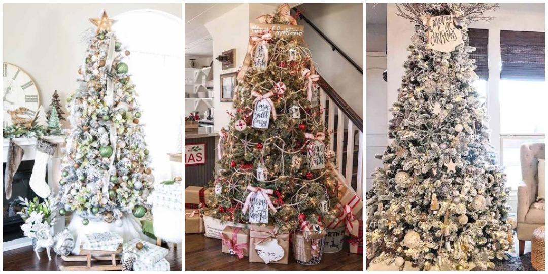 идеи украшения новогодней елки_1
