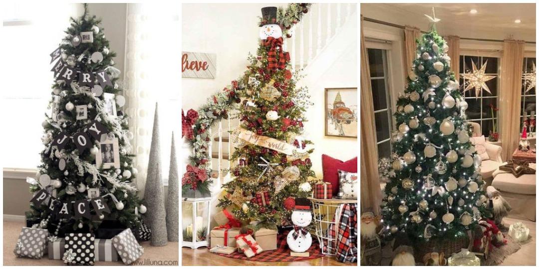 идеи украшения новогодней елки_4