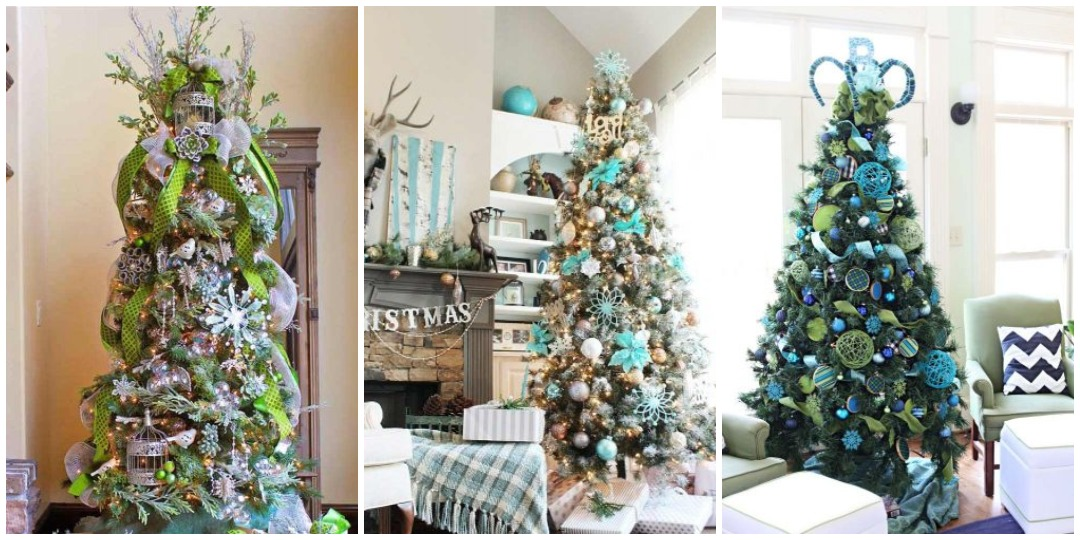 идеи украшения новогодней елки_8