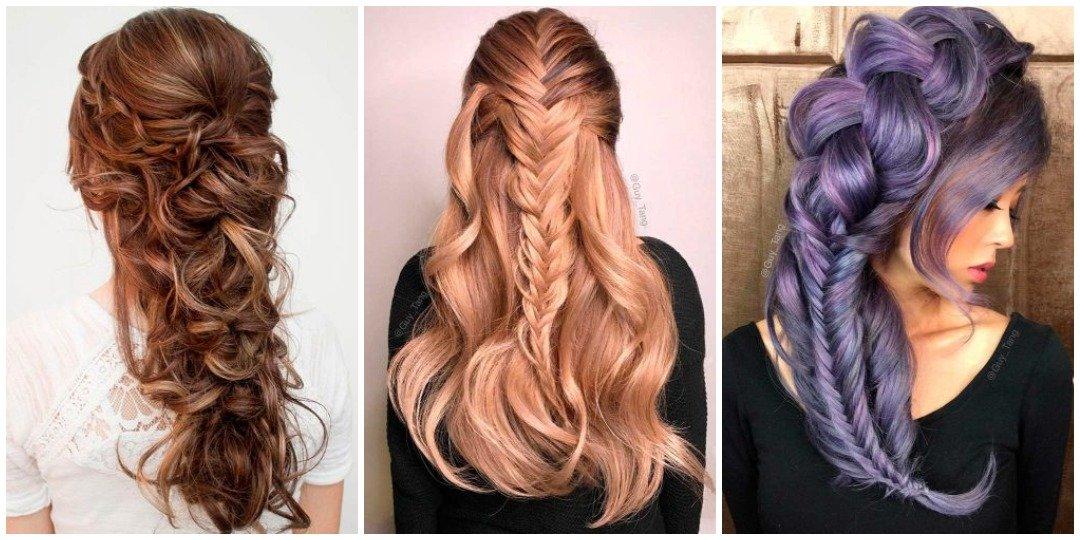 рождественских причесок для длинных волос _8