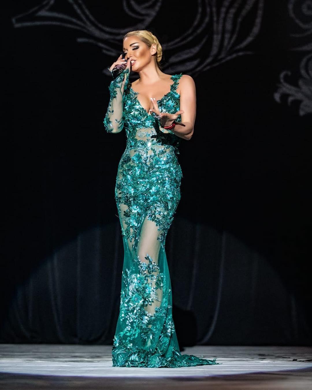 Волочкова в прозрачном платье