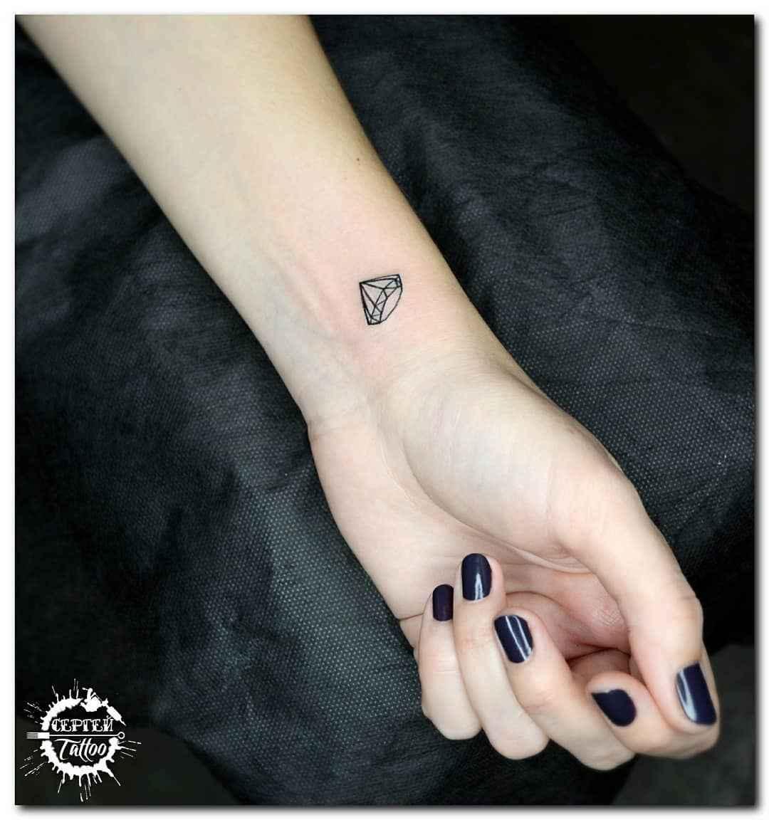Маленькие татуировки на руке_28