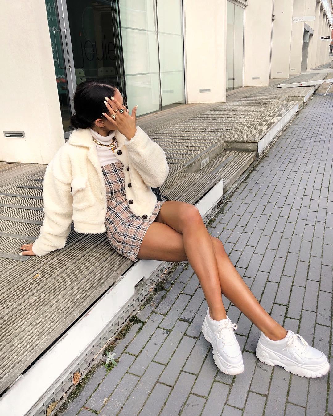 Платье с кроссовками_7
