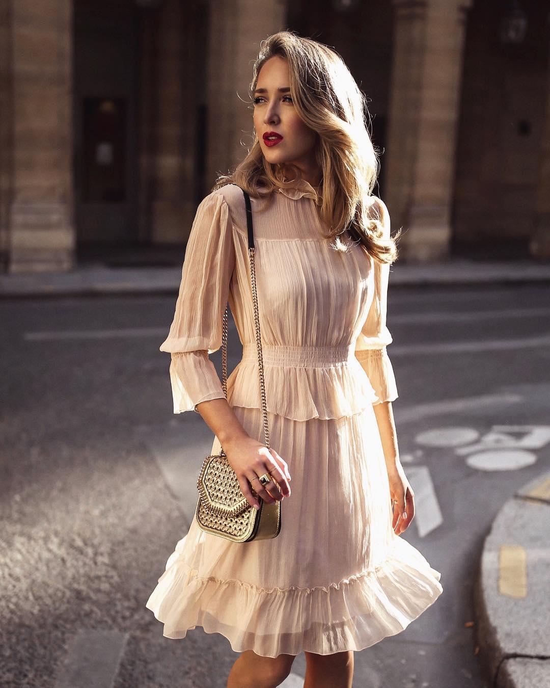 Модные весенние платья 2019 фото_16