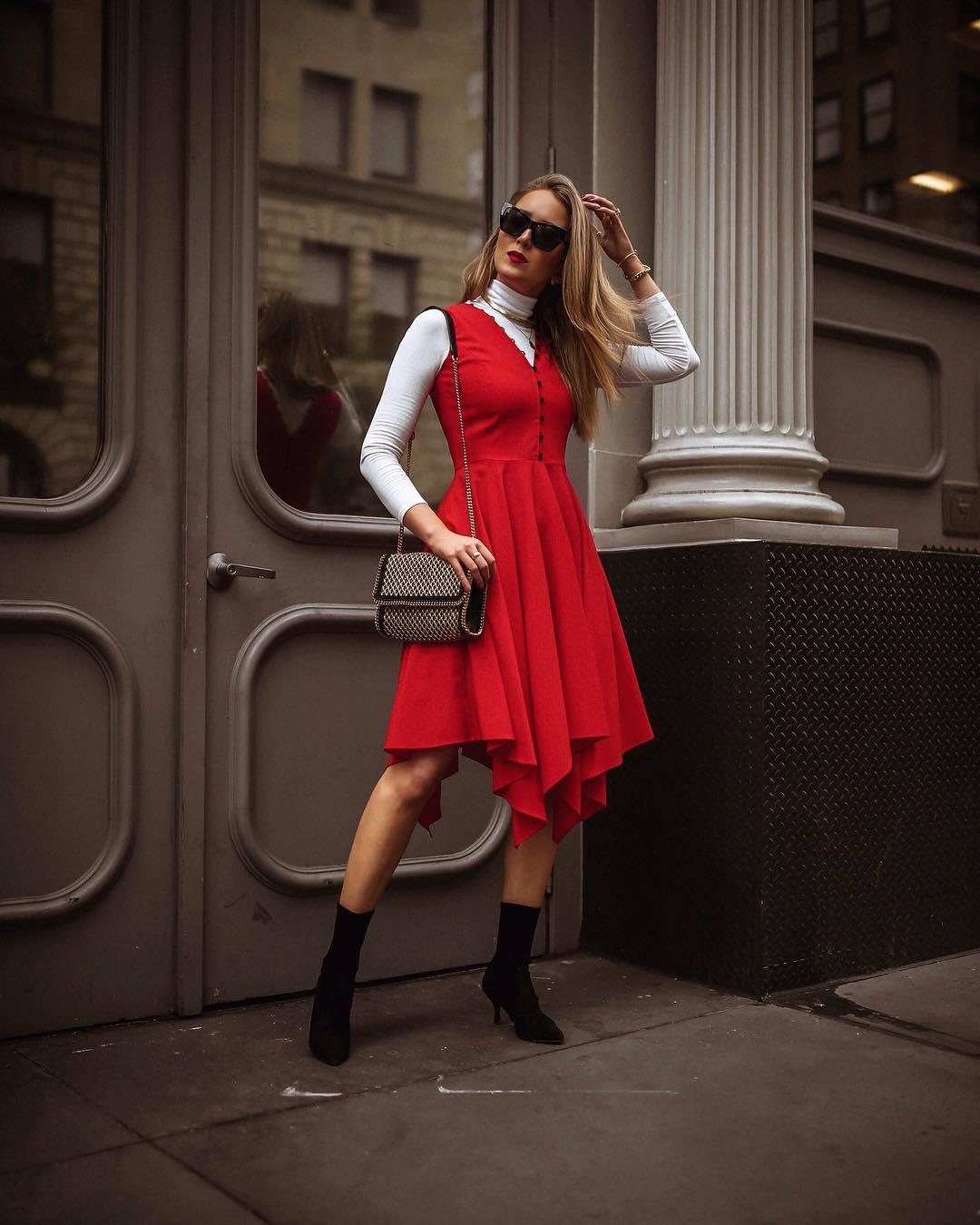 Модные весенние платья-рубашки 2019_28
