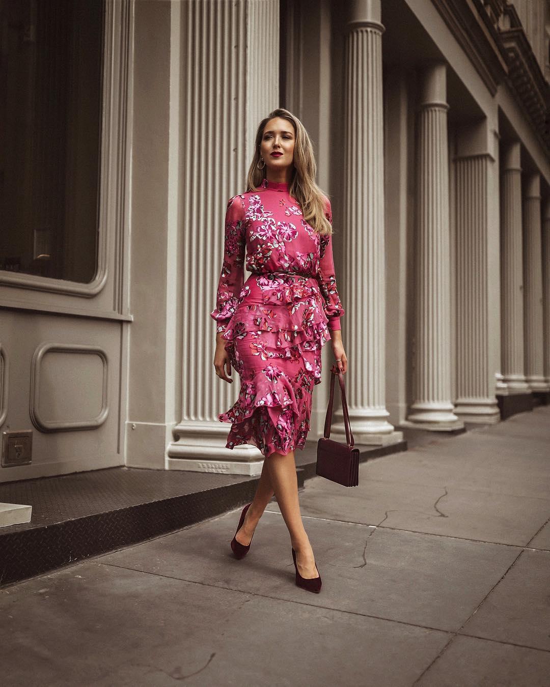 Модные весенние платья 2019 фото_6