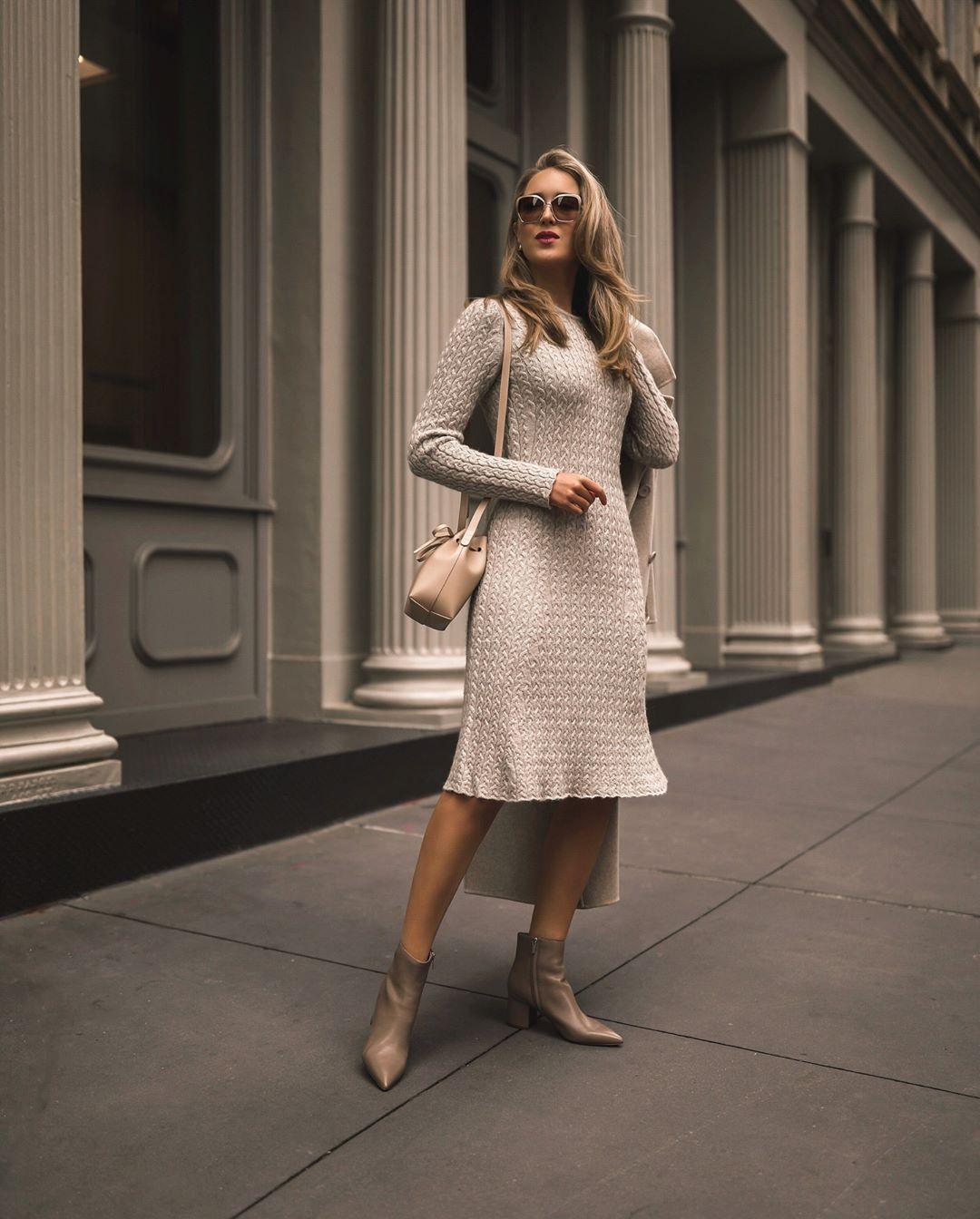 Модные весенние платья 2019 фото_18