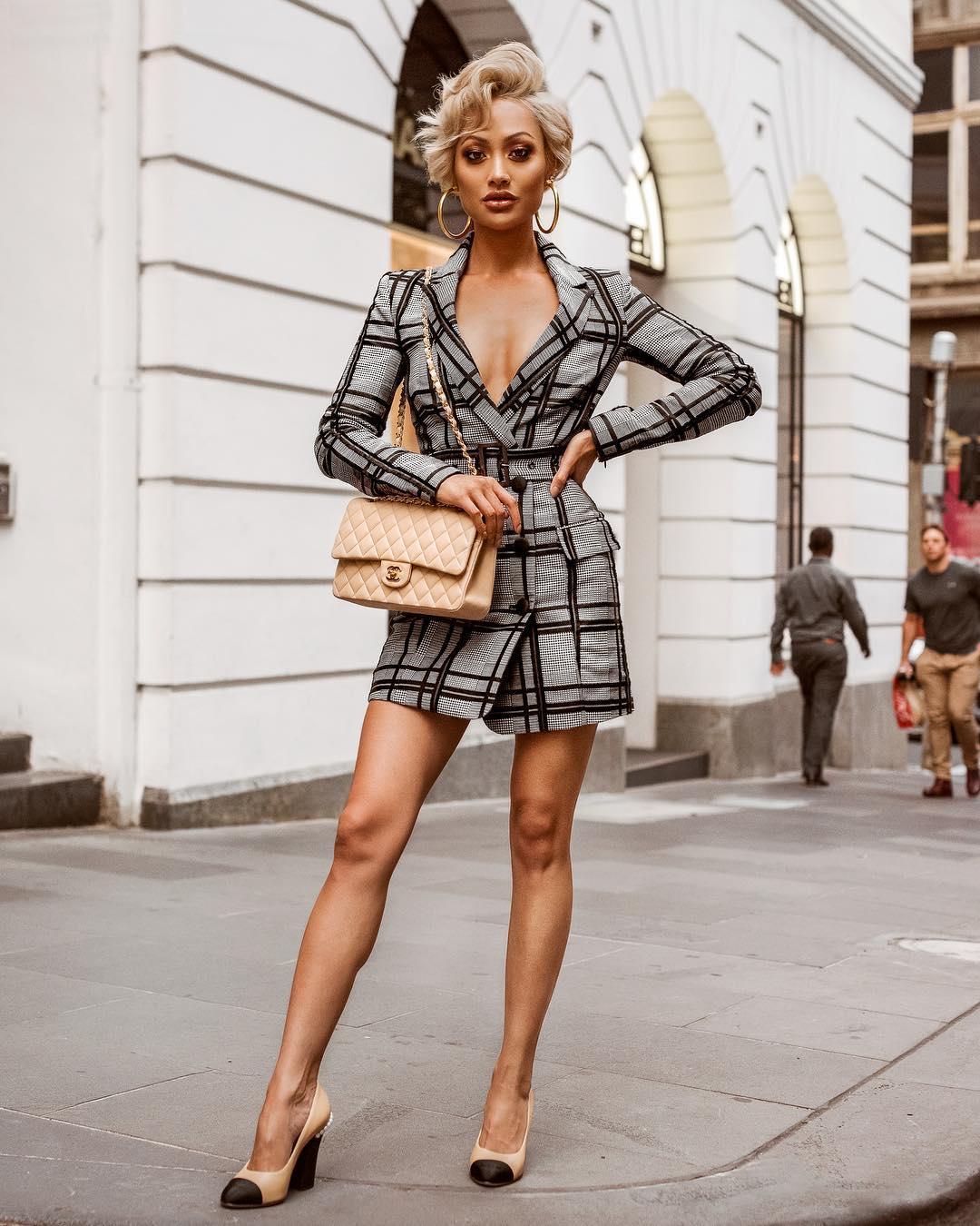 Модное весеннее платье-блейзер_34