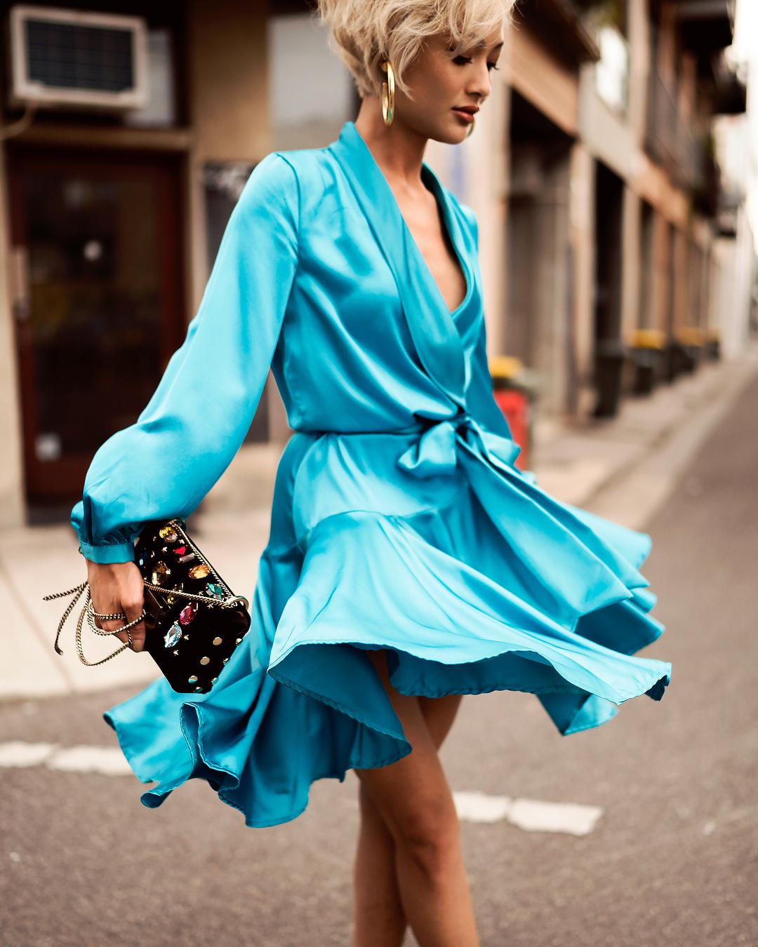 Модные весенние платья 2019 фото_5