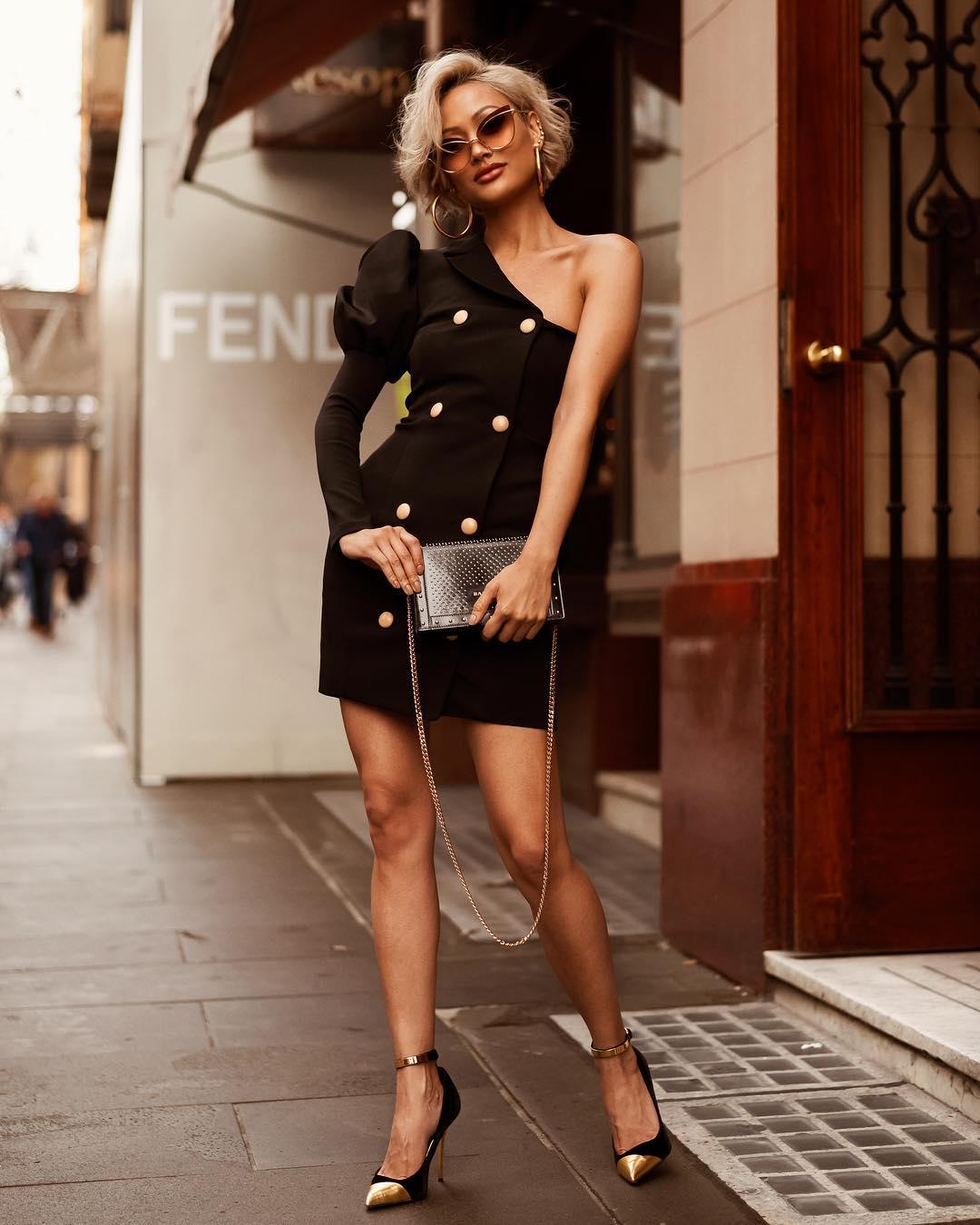 Модное весеннее платье-блейзер_32