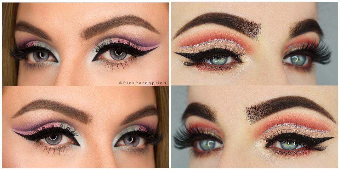 Вечерний макияж для голубых глаз фото_10