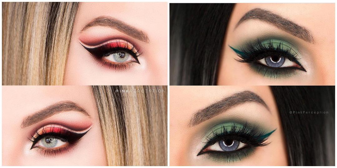 Вечерний макияж для голубых глаз фото_8