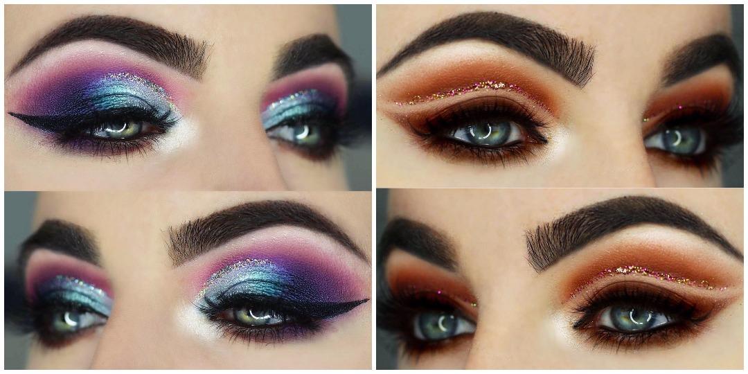 Вечерний макияж для голубых глаз фото_9