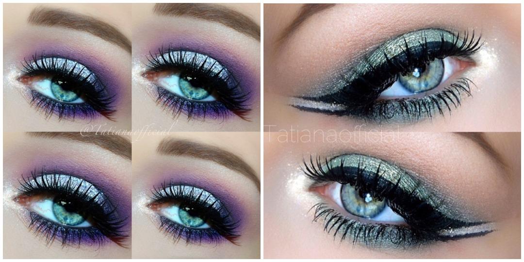 Вечерний макияж для голубых глаз фото_13