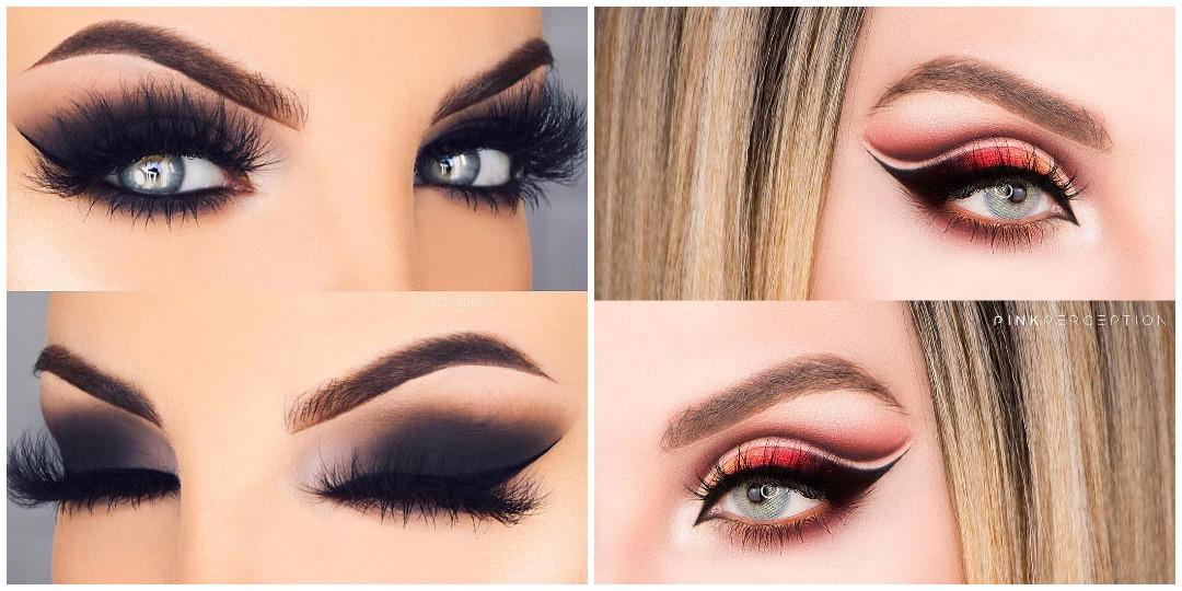 Вечерний макияж для голубых глаз фото_7
