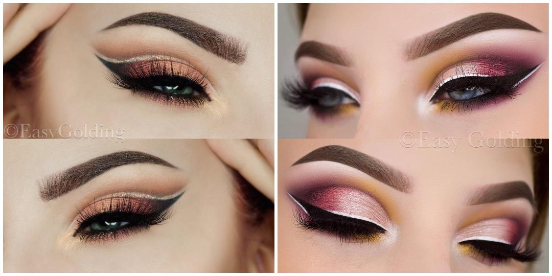 Вечерний макияж для голубых глаз фото_6