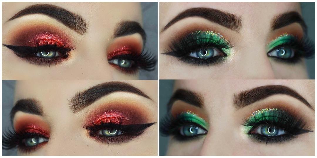 Вечерний макияж для голубых глаз фото_3
