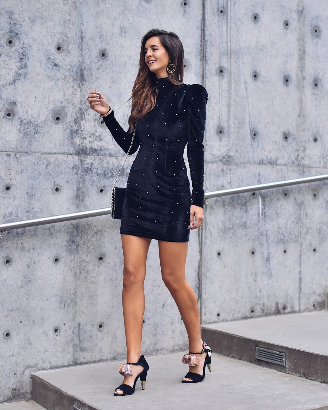Модные весенние платья 2019 из вельвета, бархата или кожи
