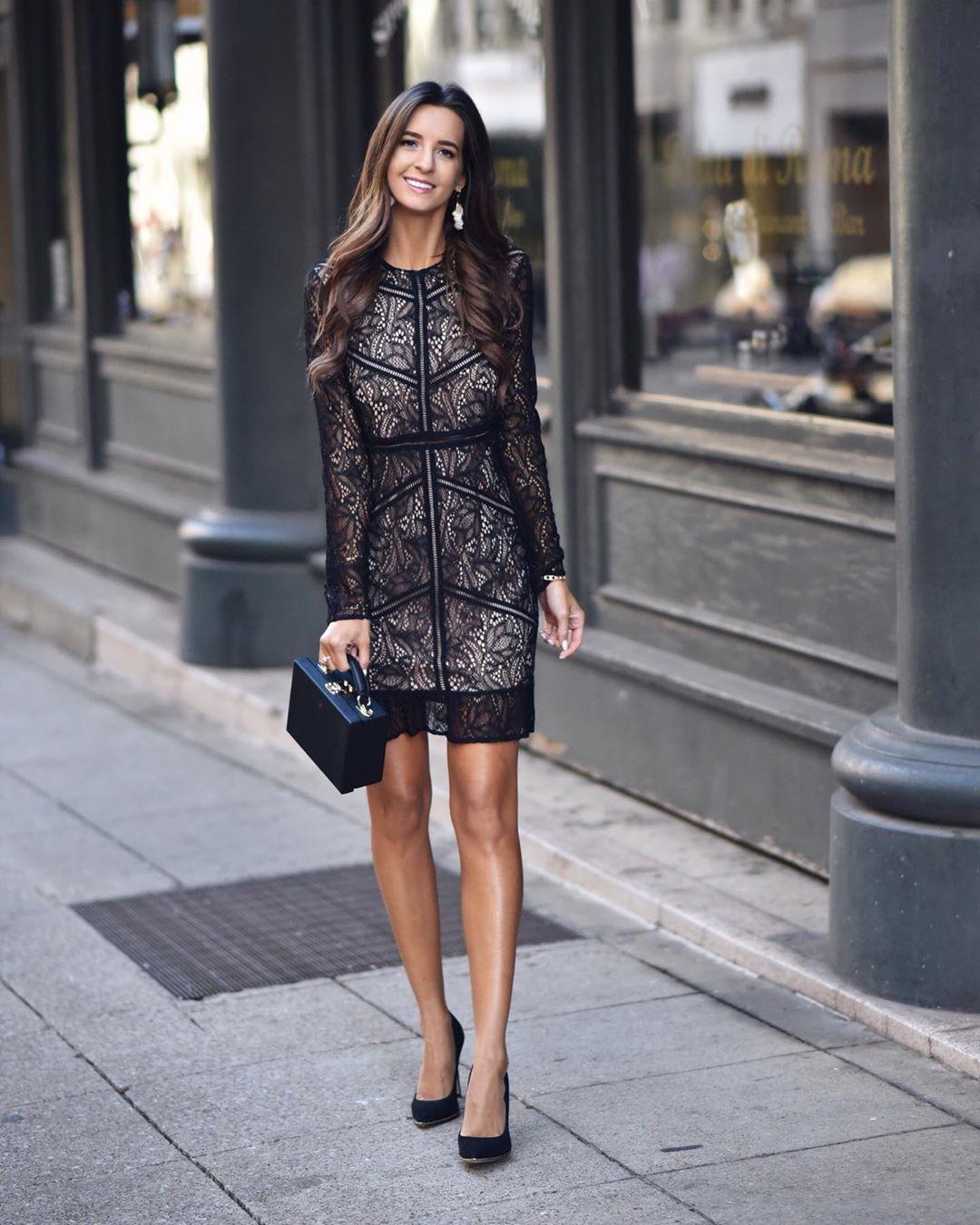 Модные весенние платья 2019 с  принтами_41