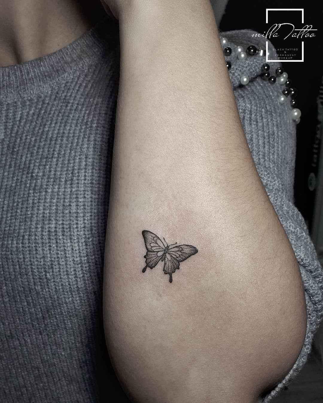 Маленькие татуировки на руке_8