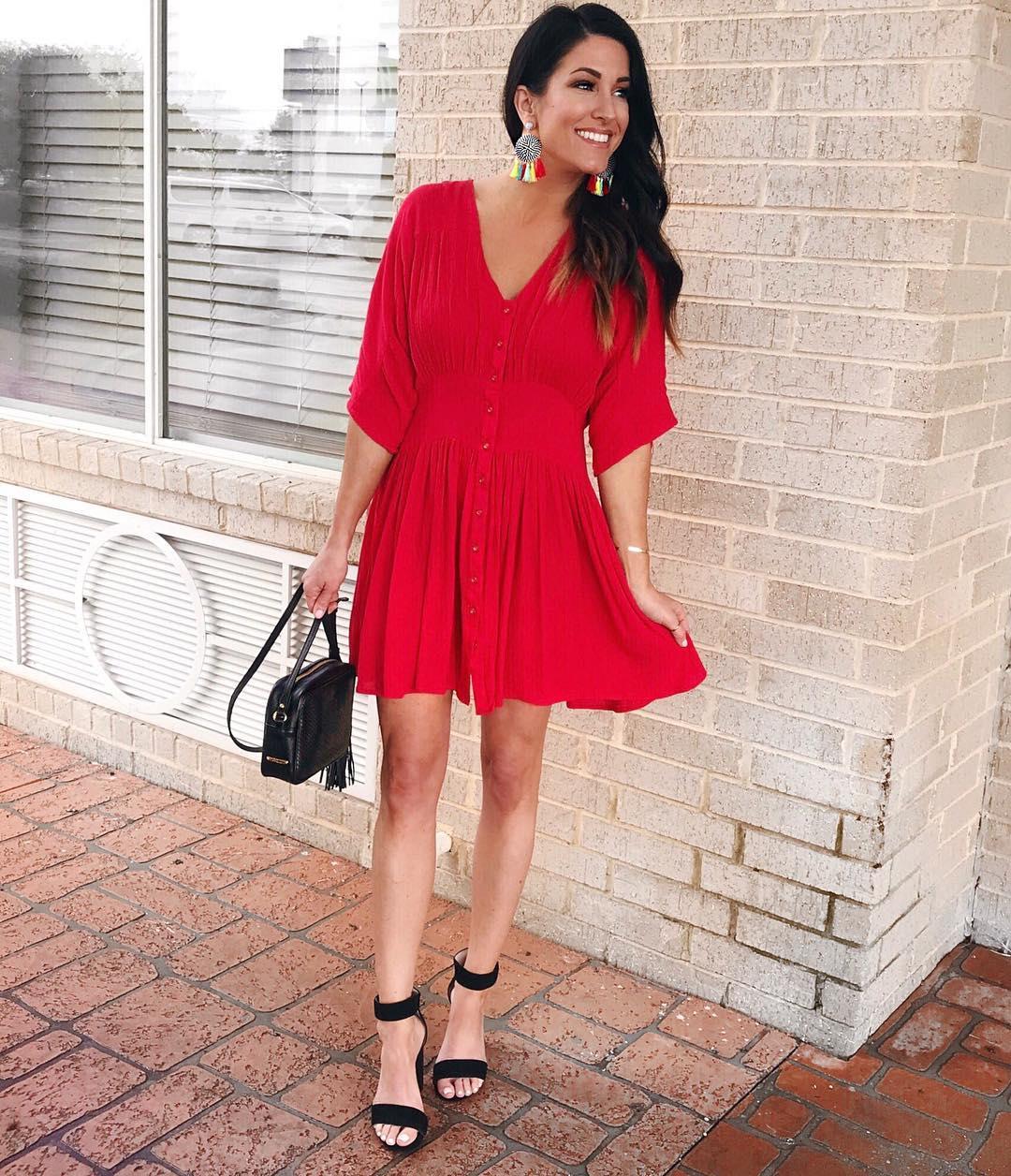 Модные весенние платья-рубашки 2019_29