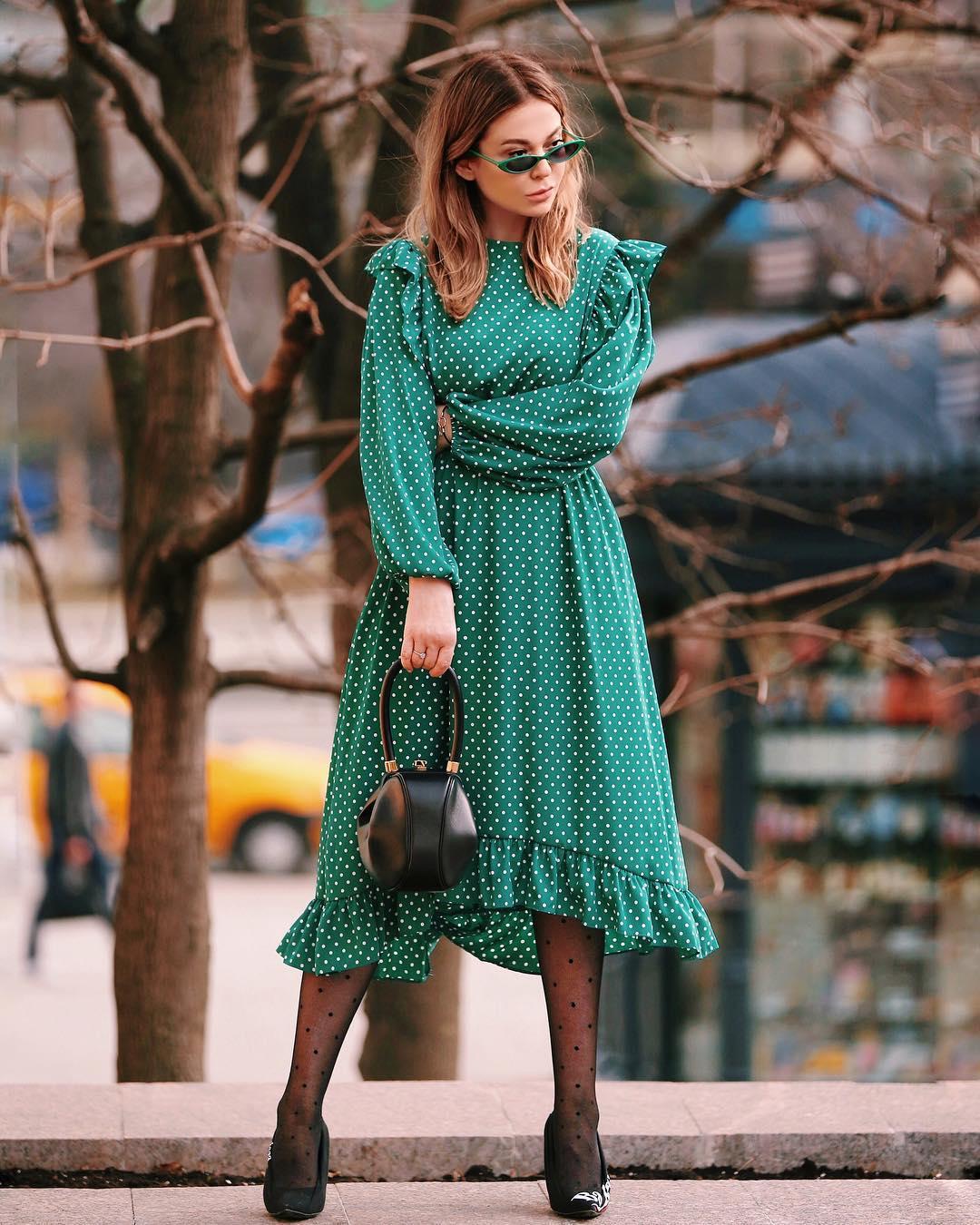 Модные весенние платья 2019 фото_7