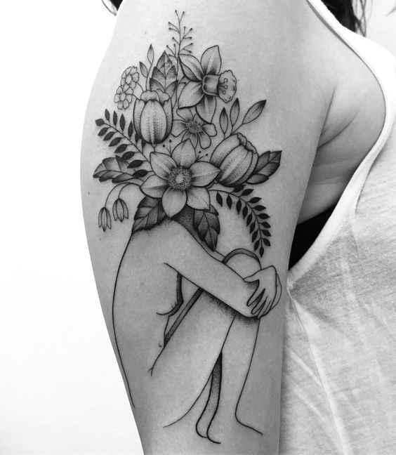 Сюрреалистичная татуировка фото_1