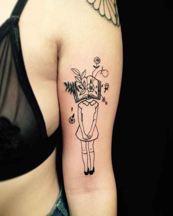 Сюрреалистичная татуировка фото_16