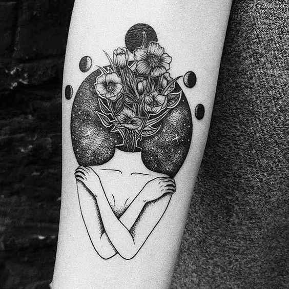 Сюрреалистичная татуировка фото_7