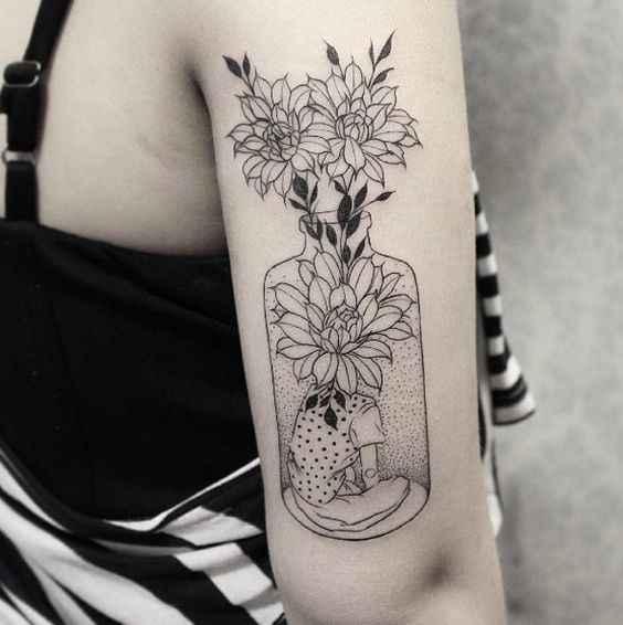 Сюрреалистичная татуировка фото_3