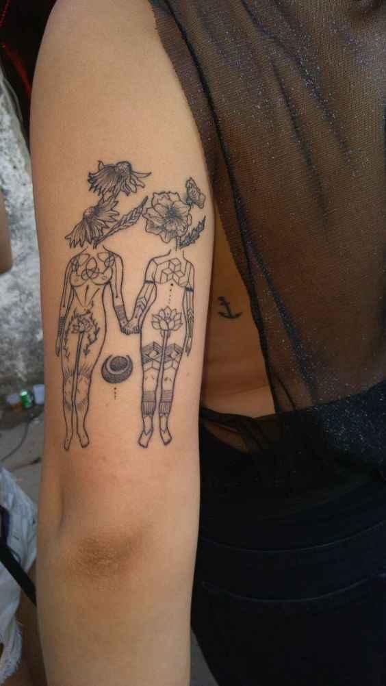 Сюрреалистичная татуировка фото_9
