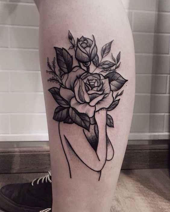 Сюрреалистичная татуировка фото_4