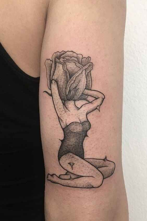 Сюрреалистичная татуировка фото_5