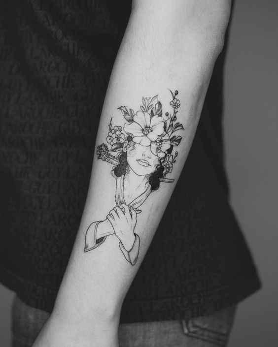 Сюрреалистичная татуировка фото_17