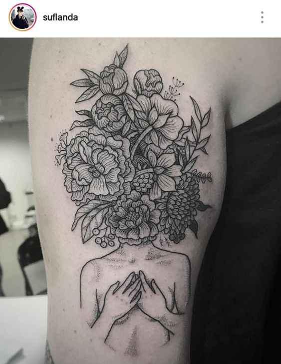 Сюрреалистичная татуировка фото_21