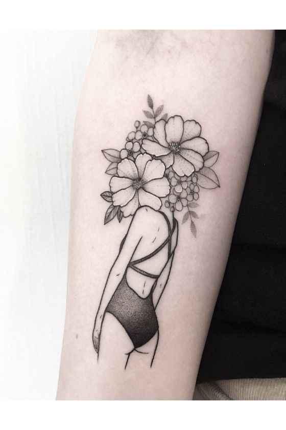 Сюрреалистичная татуировка фото_22